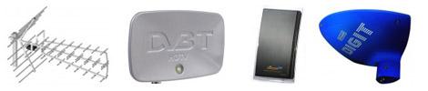 Anteny telewizyjne DVB-T
