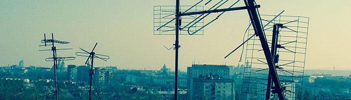 uszkodzona antena TV