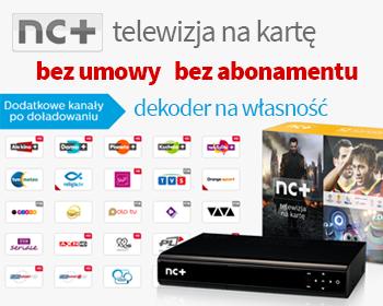 Telewizja na kartę NC+