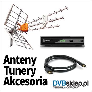 Anteny, Tunery, Akcesoria, DVBsklep.pl