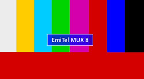 Test MUX 8 - plansza testowa