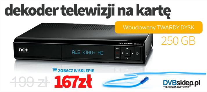Telewizja na Kartę - dekoder ADB 5800SX