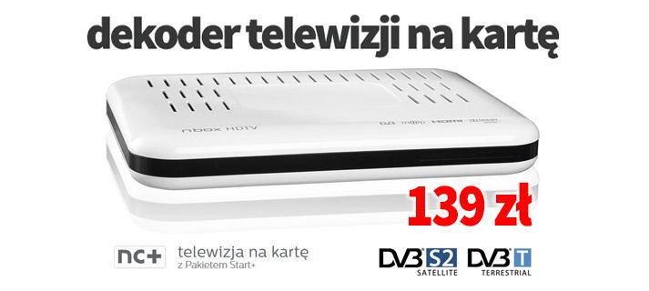 Telewizja naKartę NC+ Dekoder ITI ADB 2849