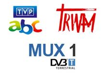 MUX1, Trwam, TVP ABC