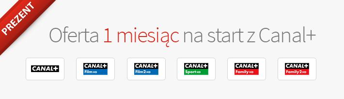 Telewizja nakartę NC - oferta Canal+