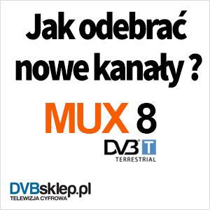 Jak odebrać nowe kanły TV naziemnej telewizji cyfrowej DVB-T