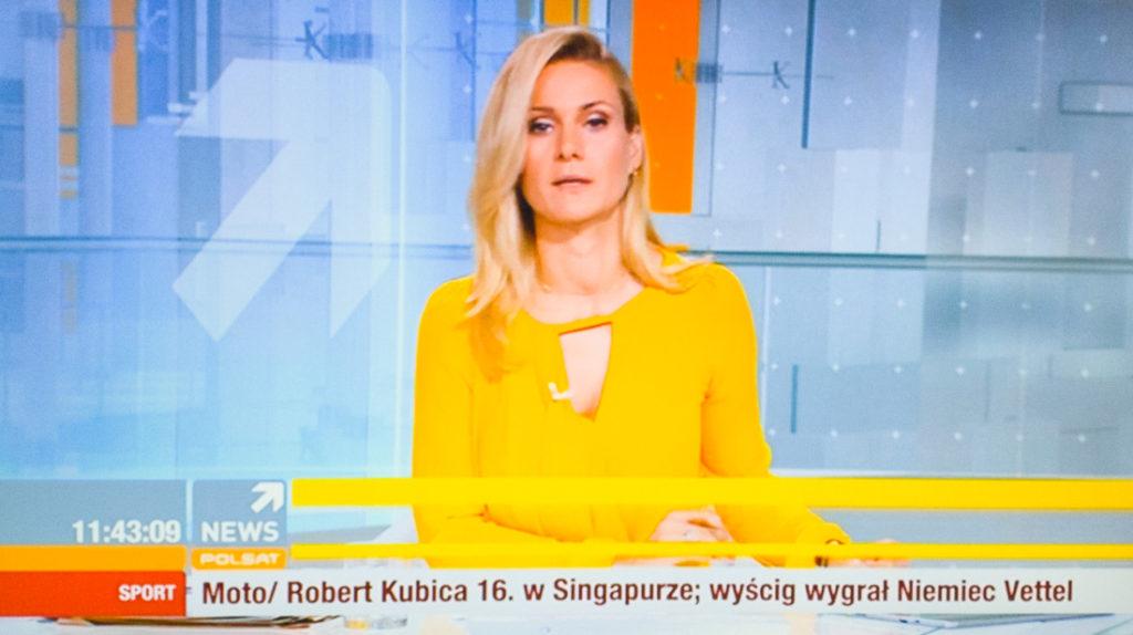 Kanał Polsat News naMUX 4 naziemnej telewizji cyfrowej DVB-T