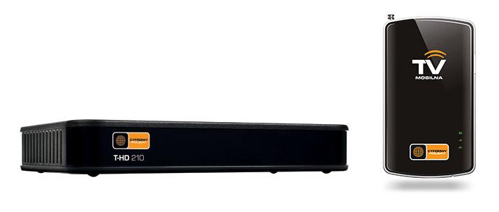 Dekodery MUX 4 Telewizji Mobilnej.