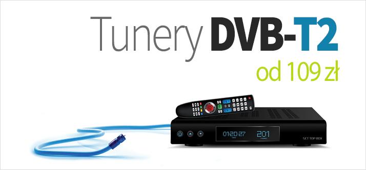 Tunery DVB-T2/HEVC
