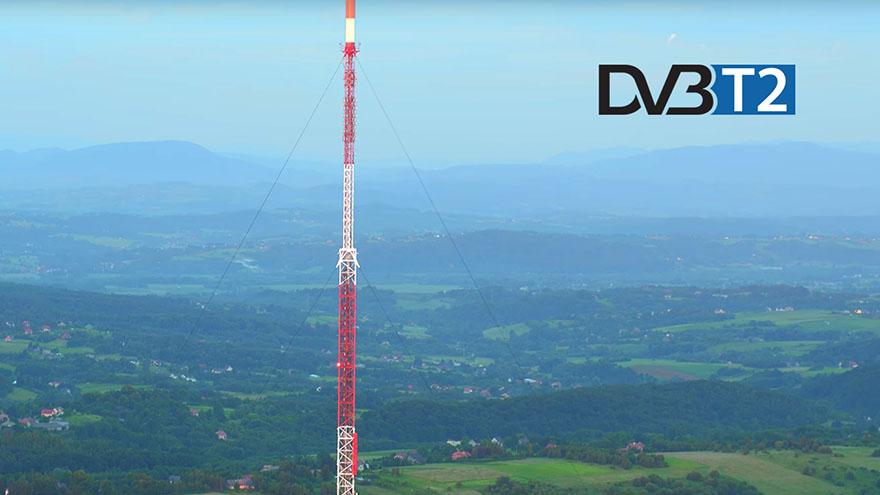 nadajniki DVB-T2