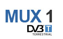 Kanały DVB-T - multipleks 1